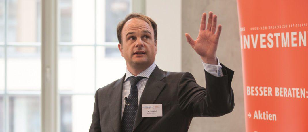 Philipp Koch: Der McKinsey-Partner sieht Probleme für Deutschlands Vermögensverwalter.