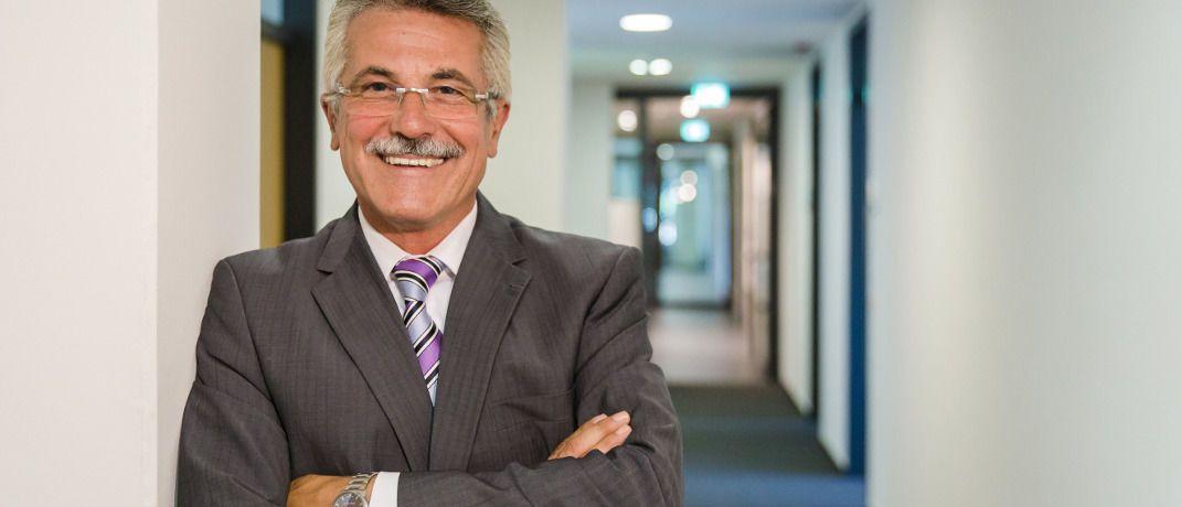 Rudolf Geyer: Der Sprecher der Geschäftsführung der B2B-Direktbank European Bank for Financial Services (Ebase) erklärt die wichtigsten Bewegungen in den Kundenportfolios.|© Ebase