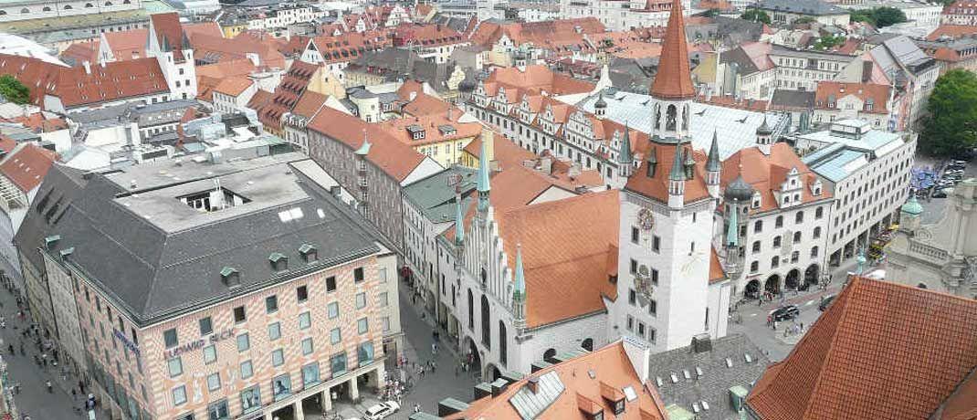 Innenstadt von München: In der bayrischen Landeshauptstadt liegt der Mietspiegel stellenweise bei bis zu 40 Euro pro Quadratmeter, einige soziale Vermieter machen bei der Preisspirale nach oben aus Überzeugung nicht mit.
