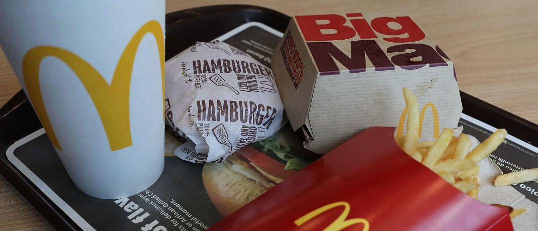 Der Inflationsindex auf Big-Mac-Basis belegte jüngst die starke Teuerung in den Industrieländern|© Getty