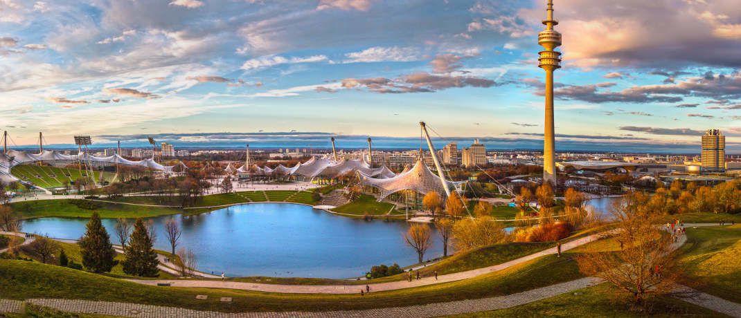Blick auf die Olympiahalle in München, in der die Versammlungen der P&R-Gläubiger stattfinden sollen: Von der Insolvenz sind rund 54.000 Anleger betroffen.|© Pixabay
