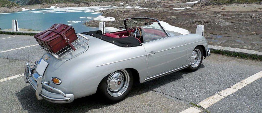 Schicker Wagen: Der Porsche 356 A 1600 S Convertible von Klaus Reuber.