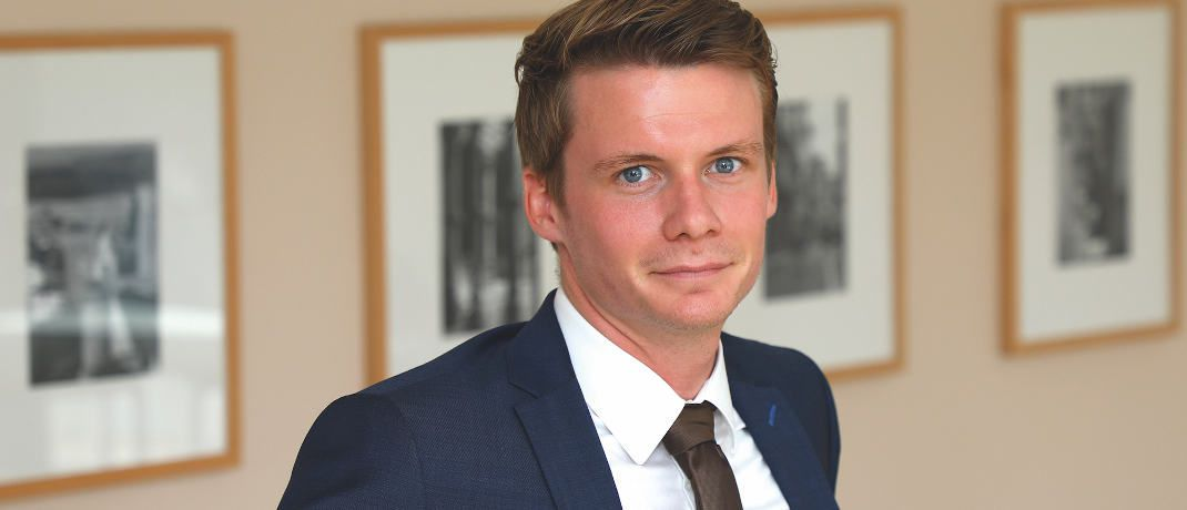 Kilian Stemberger arbeitet im Research & Portfoliomanagement von DJE Kapital|© DJE Kapital