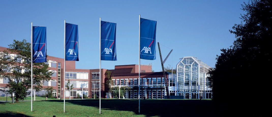 Die Hauptverwaltung der Axa Deutschland in Köln: Die Axa Gruppe verhandelt über den Verkauf der Axa Life Europe. |© Axa