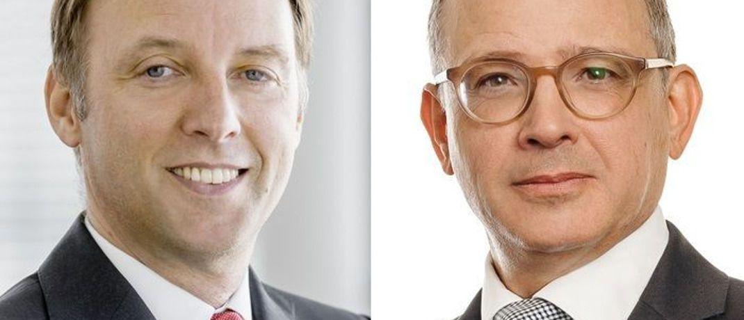 Klaus Ripper (l.) und Norbert Adam arbeiten im CLO-Team von Lupus alpha. © Lupus alpha Asset Management AG
