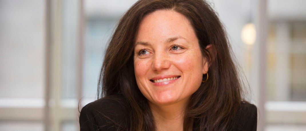 Marie Cardoen ist Privatkunden-Chefin für Deutschland und Österreich bei Goldman Sachs Asset Management. © GSAM