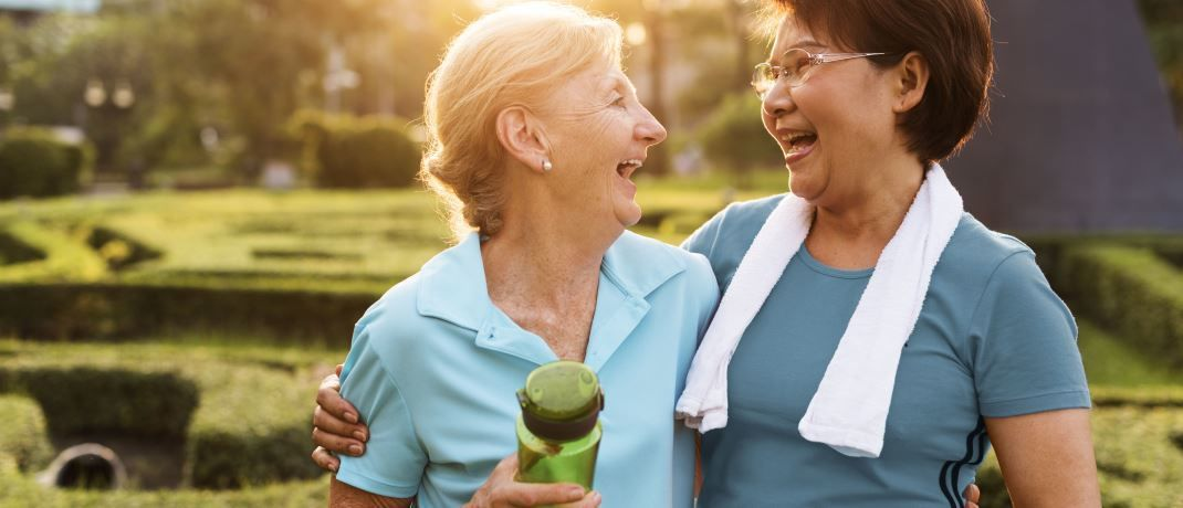 AXA IM: Weshalb Investoren auf 60 plus setzen sollten|© Shutterstock