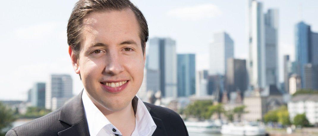 Lars Reiner ist Gründer und Chef des Frankfurter Robo-Beraters Ginmon.|© Ginmon