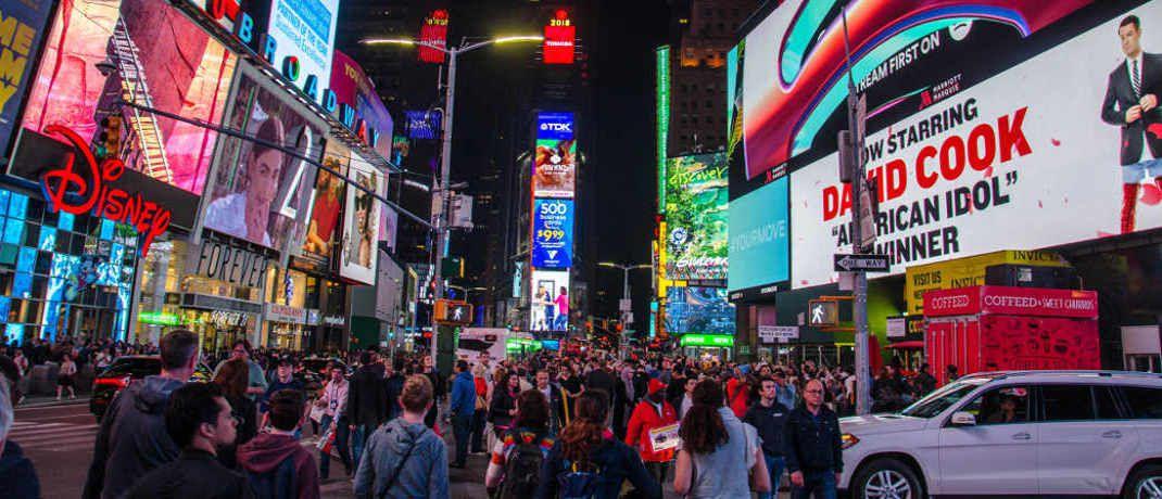 Broadway in New York: Der neue Oddo-BHF-Fonds investiert trendfolgend in den USA.|© Pexels