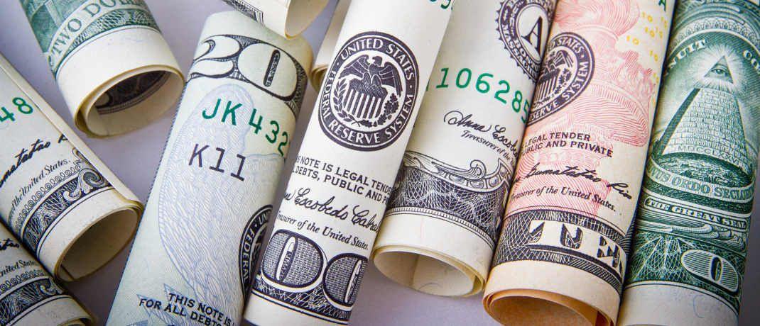 US-Dollar-Banknoten: Der Greenback ist zurzeit relativ stark.|© Pixabay