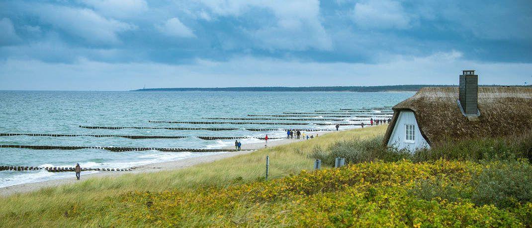Ferienhaus in Ahrenshoop: Urlaub an Mecklenburg-Vorpommerns Ostseeküste wird bei den Deutschen immer beliebter. |© Pixabay