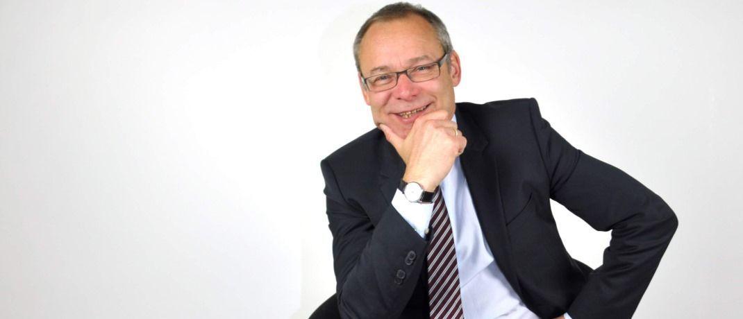Thomas Hünicke ist geschäftsführender Gesellschafter der WBS Hünicke Vermögensverwaltung in Düsseldorf.