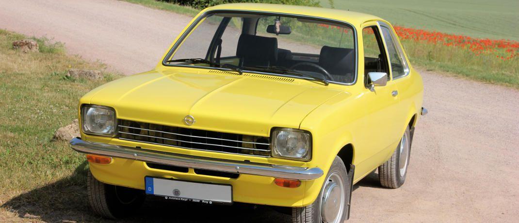 Der Opel Kadett begleitet seinen Besitzer Carl Gitter schon seit seinem18. Lebensjahr.