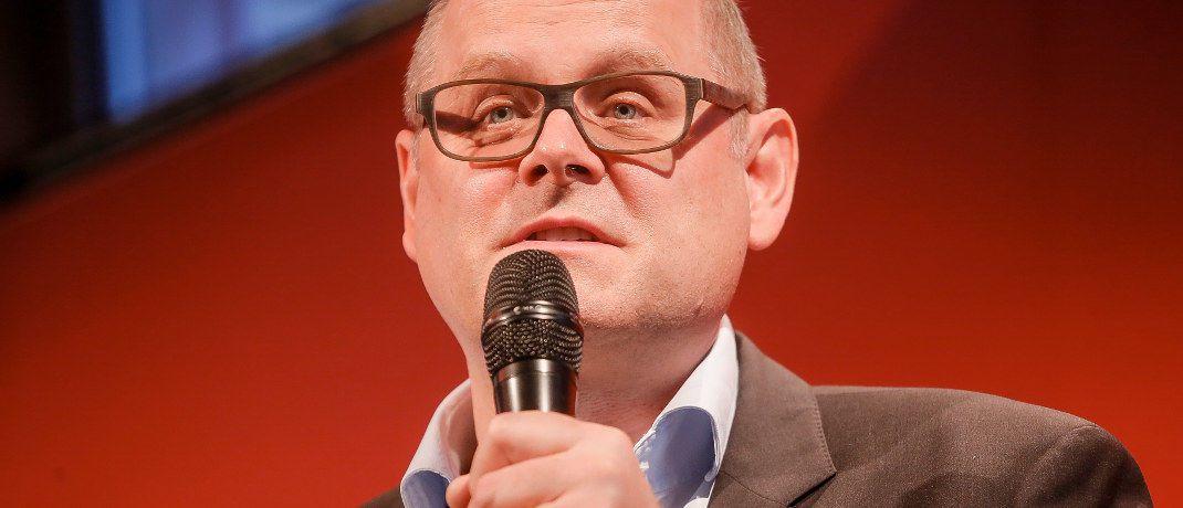 Neuer Leiter Zentraleuropa bei Morningstar: Christian Mesenholl (hier auf einer Veranstaltung).|© Morningstar