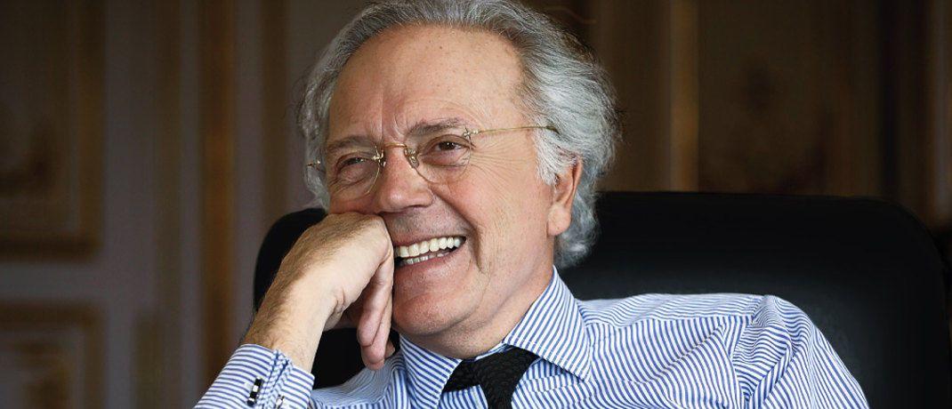 Edouard Carmignac gibt das Fondsmanagement im Aktienfonds Investissement ab. © Carmignac
