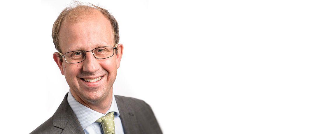 """Machiel Zwanenburg, Portfolio Manager Quant Equities bei Robeco: """"Man kann das Nachhaltigkeitsprofil eines Portfolios verbessern und Alpha vereinnahmen."""" © Robeco"""