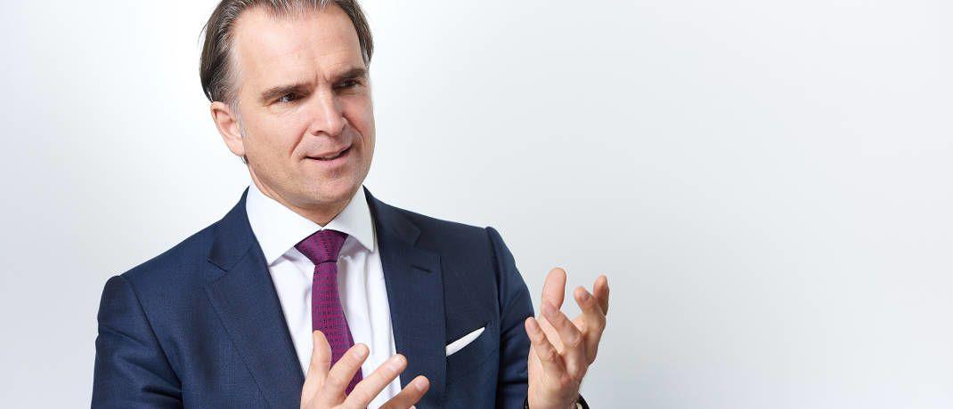 Werner Kolitsch ist M&G-Chef für Deutschland und Österreich © Andreas Mann