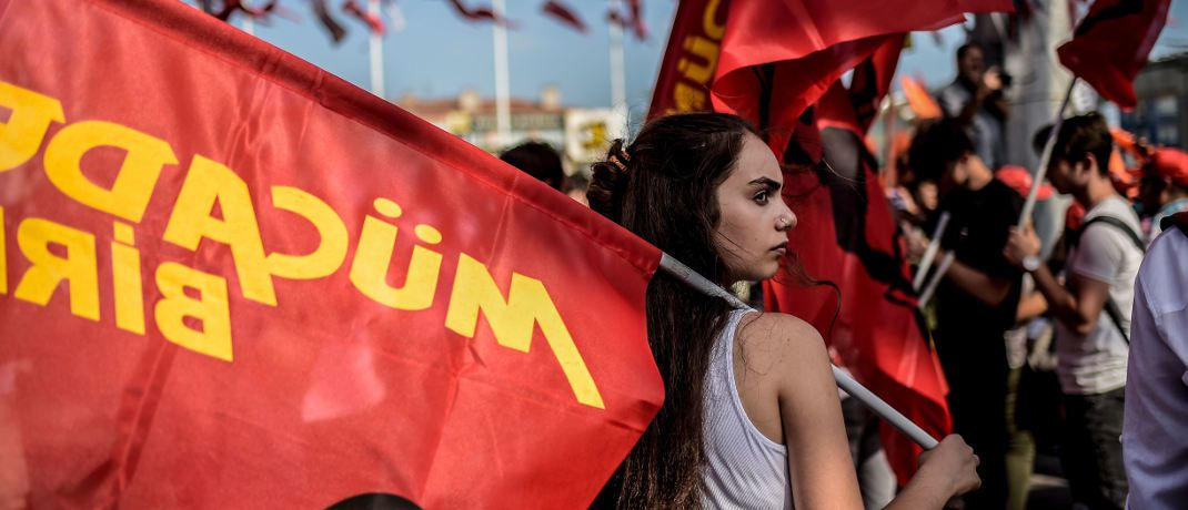 Proteste in Istanbul am 2. September 2018|© Getty Images