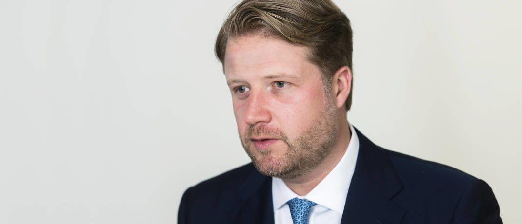 Thilo Wolf leitet das Deutschland-Geschäft von BNY Mellon IM|© Andreas Mann