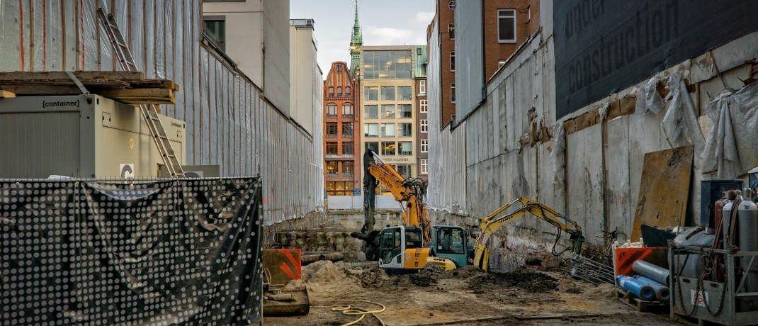Baustelle: Für Bausparer sind die niedrigen Zinsen gut, für die Bausparkassen weniger. |© mali maeder