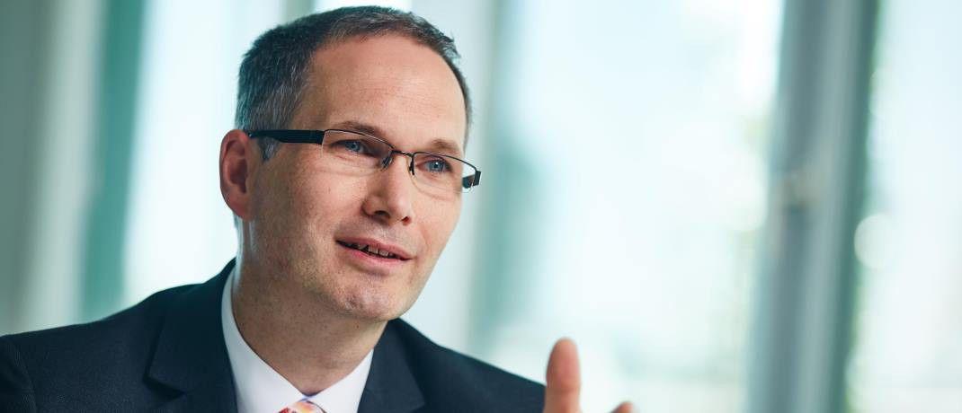 Guntram Overbeck ist Leiter Produktsteuerung Leben bei der Helvetia. |© Helvetia