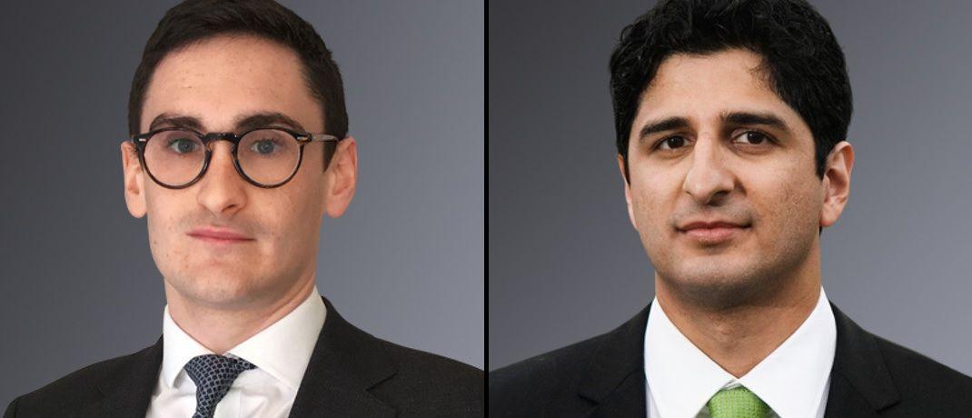 Neu bei Unigestion: Joshua Seager (li.) und Salman Baig.|© Unigestion