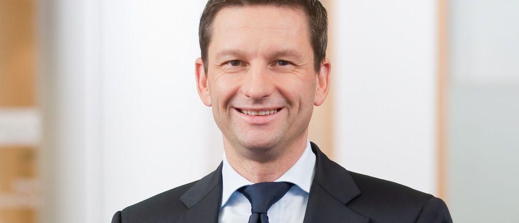 Matthias Battefeld ist seit Anfang 2015 im Vorstand der Hannoverschen Volksbank für das Privatkundengeschäft.|© Jan von Allwörden