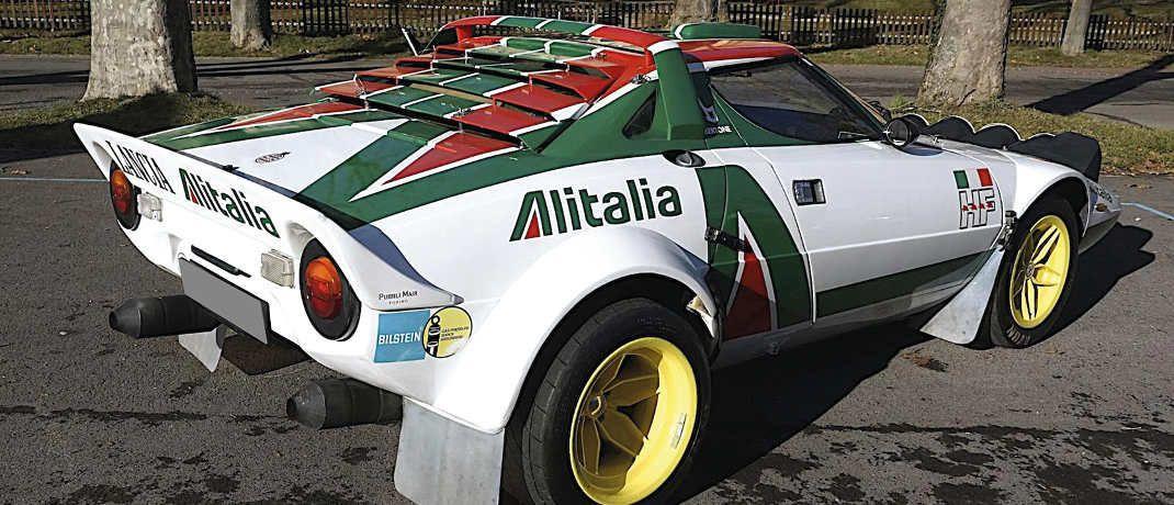 Der Lancia Stratos Gruppe 4 hat Armin Schwarz auf vielen Rallyes begleitet. © Armin Schwarz