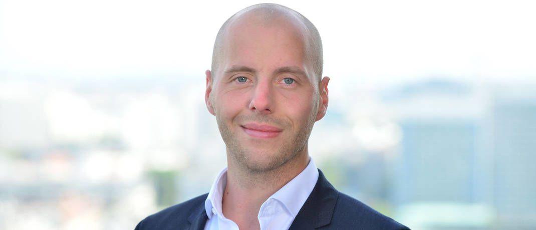 Leonard Zobel, Gründer und Geschäftsführer des auf Kryptowährungen spezialisierten Unternehmens Next Block|© Next Block