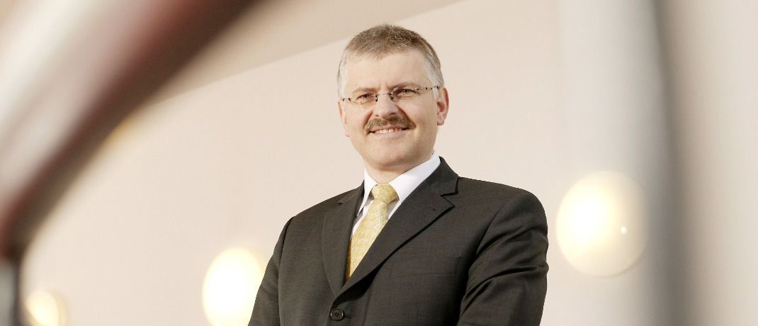 Gottfried Urban, Vorstand der Bayerische Vermögen mit Sitz in München.|© Bayrische Vermögen