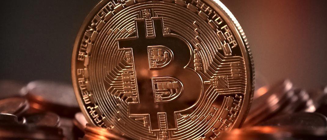 Ein Bitcoin: Die Verwahrung der digitalen Assets bereitet der Finanbranche mangels erprobter Systeme noch Probleme. © Pixabay