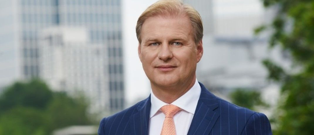 Achim Küssner, Geschäftsführer bei Schroders, erfreut über die strategische Zusammenarbeit mit der Lloyds Banking Group|© Schroders