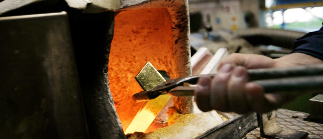 Goldbarren-Produktion: Barrick und Randgold wollen fusionieren. | © Getty Images