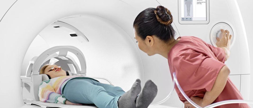 BioMatrix-Technologie für neurologische Laboruntersuchungen: Umbrüche durch Megatrends können neue Anlagechancen schaffen. |© www.healthcare.siemens.de