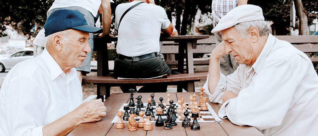 Wer rechtzeitig fürs Alter vorsorgt, kann den Ruhestand mitunter ganz spielerisch genießen.