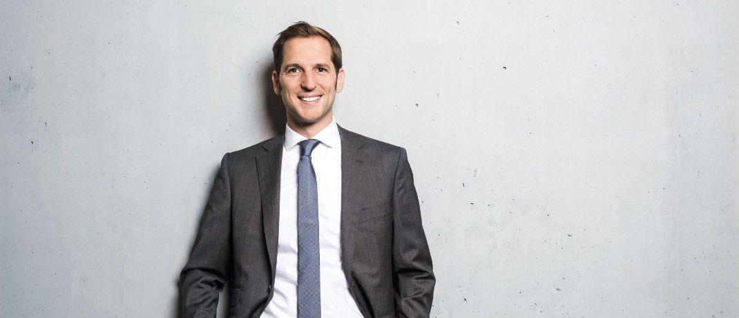 Florian Uleer ist seit 2015 Deutschland-Chef des Asset Managers Columbia Threadneedle Investments, der zur US-Investmentgesellschaft Ameriprise Financial gehört.   |© Johannes Arlt