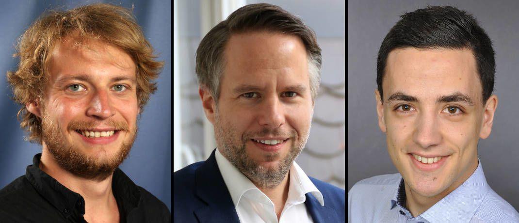 Ifo-Wissenschaftler (von links): Paul Hufe, Andreas Peichl, Daniel Weishaar|© Ifo-Institut