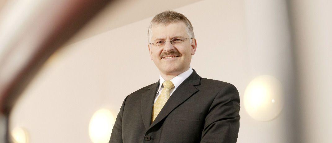 Gottfried Urban ist Vorstand der Bayerische Vermögen in München.|© Bayrische Vermögen