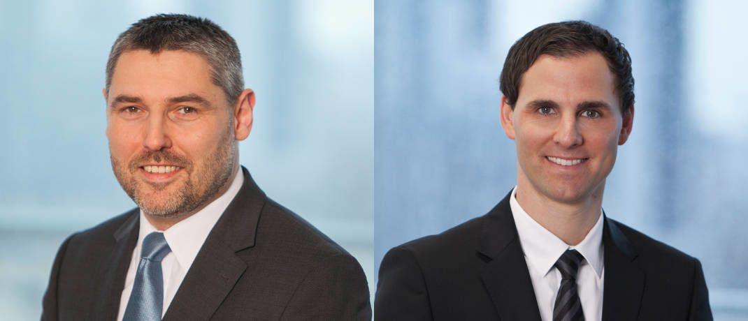 Vorgänger und Nachfolger bei Union Investment: Gunther Kramert (links) und Marc Hellingrath