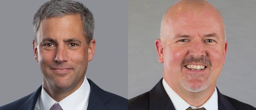 Jeff Skoglund (l.), COO Fixed Income und James Switzer (r.), Global Head of Fixed Income Trading bei AB wissen, wie Mensch und Maschine gewinnbringend zusammenarbeiten können.