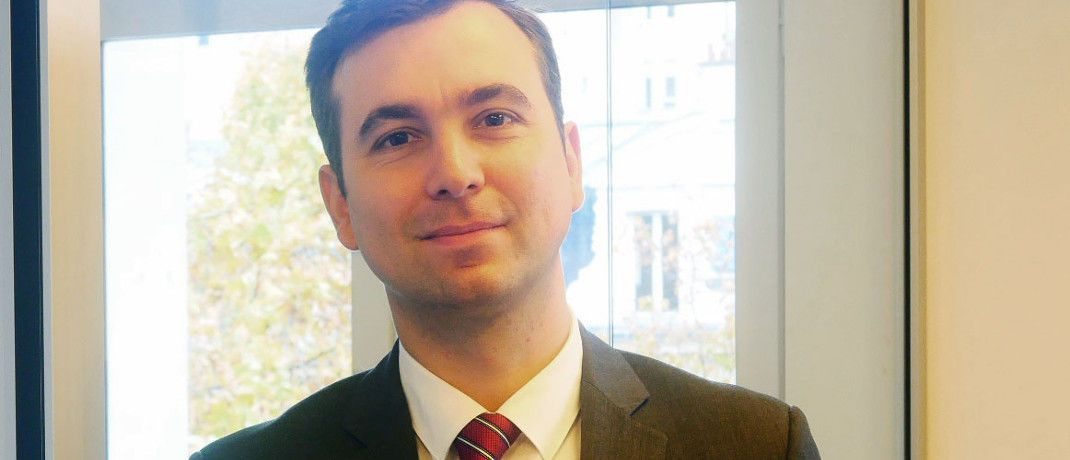 Romain Ruffenach: Der neue Co-Fondsmanager des Echiquier Value Euro verfügt über ein Diplom der Audencia Business School und einen Master-Abschluss in Finanzwesen des Ohio State University Fisher College of Business. | © La Financière de l'Echiquier