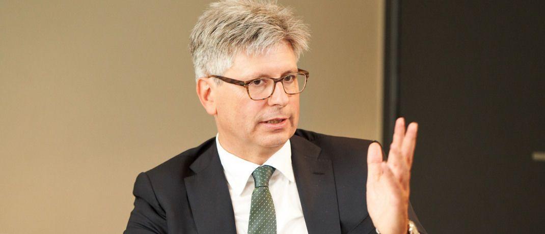 Thomas Wiesemann ist verantwortlich für den Maklervertrieb der Allianz Lebens- und Krankenversicherung.|© Jens Hannewald