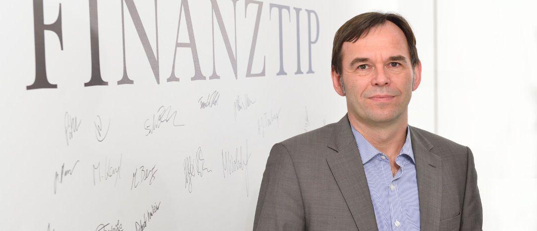 Hermann-Josef Tenhagen ist Chefredakteur des Verbraucher-Ratgebers Finanztip. © Finanztip