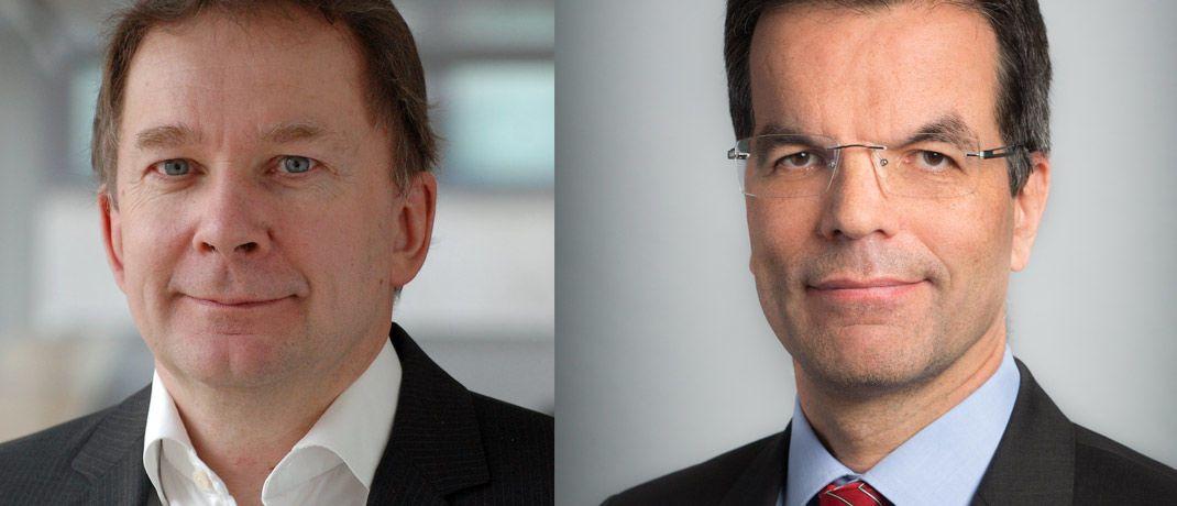 Christoph Weil und Ralph Solveen, leitende Volkswirte bei der Commerzbank