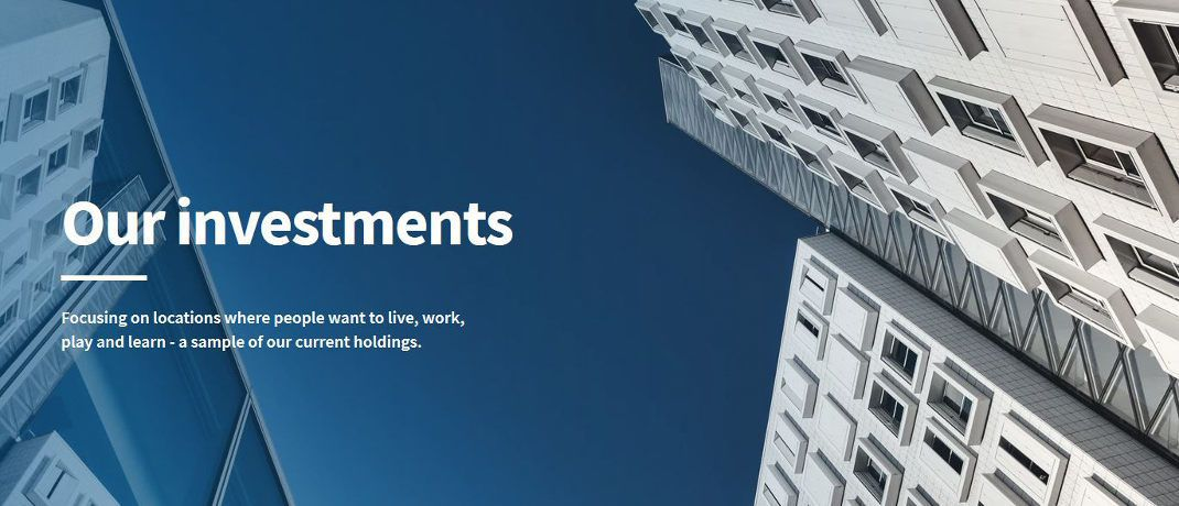 Screenshot der Internetseite des Fonds Encore+|© Lasalle IM