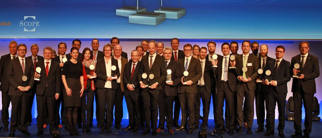 Preisverleihung bei den Scope Investment Awards | © Scope