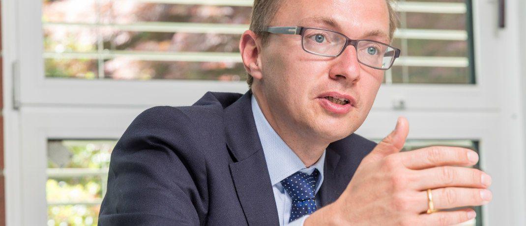 Patrick Dahmen wechselt aus dem Vorstand von Axa zu Talanx.|© Jürgen Bindrim