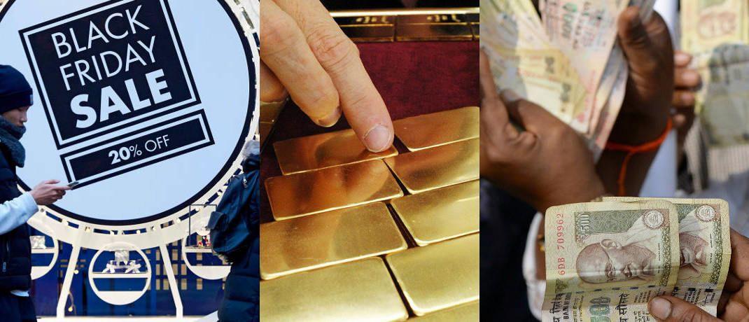 Brexit wird belohnt, Anleger flüchten massenhaft in Gold, Wirtschaftskrise in Indien: Das sind drei der sieben Risiken, die Anleger nach Rat von QC Partners auf dem Schirm haben sollten - auch wenn sie eher unwahrscheinlich sind.