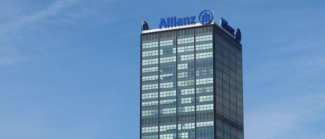 Allianz-Gebäude in Berlin: Der Versicherer darf dort nun offiziell eine eigene Holding aufbauen. |© Allianz