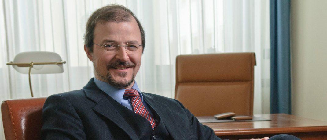 Stephan Albrech, Vorstand der Albrech & Cie. Vermögensverwaltung, empfiehlt international gestreute Anlagen.